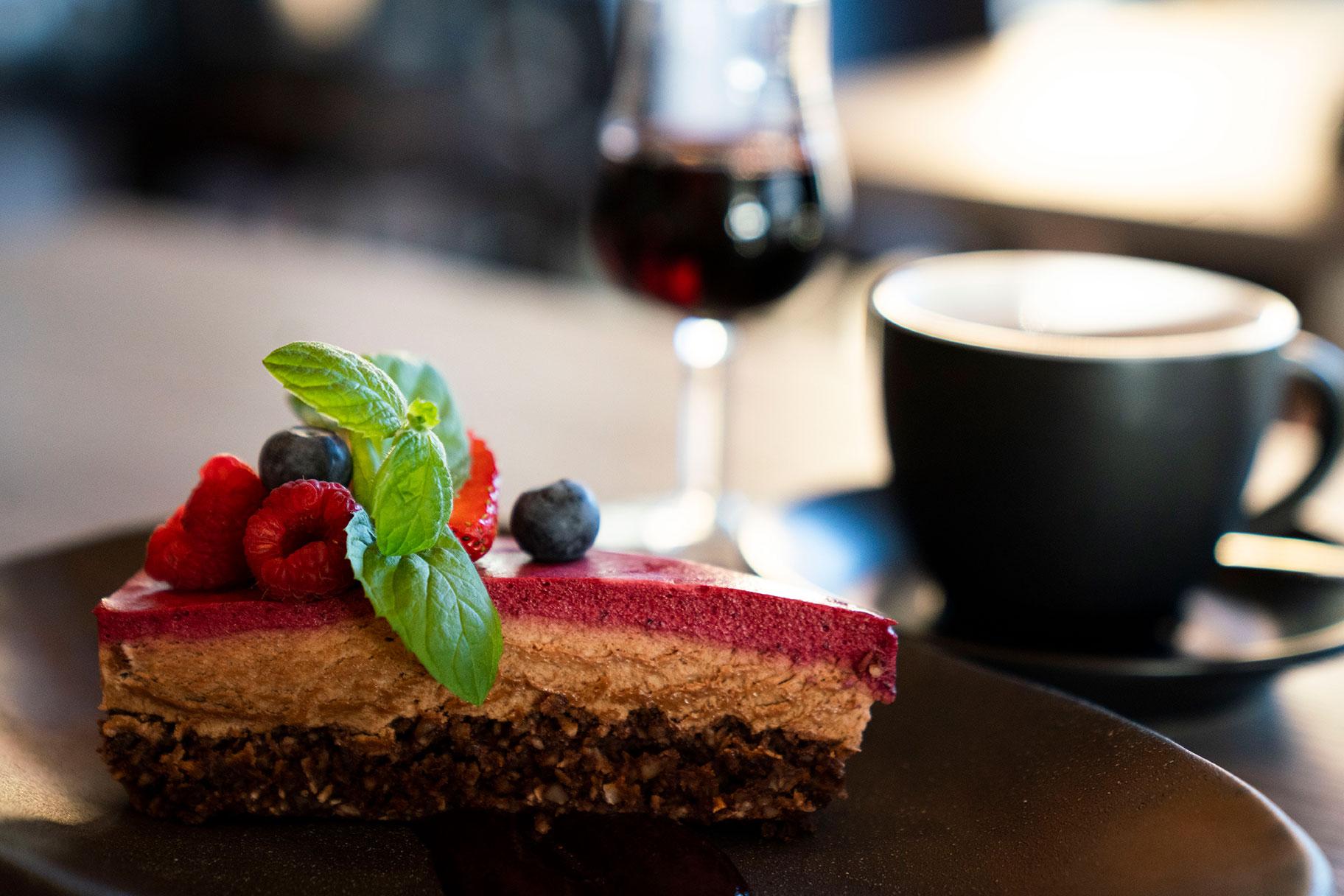 Kjøkkenets sjokoladekake med myk kjerne